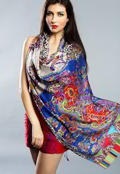 Designer Silk Shawls