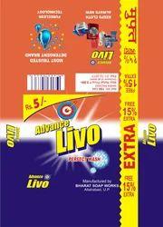 Advance Livo Detergent Soap, Shape: Rectangle
