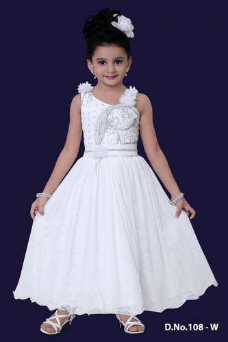 b62f8bc1a0f33 Christmas Special Dresses - Long Kids Gown Exporter from Mumbai