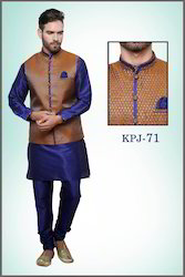 Royal Kurta Pyjama With Jacket