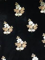 Velvet Embroidery Fabrics
