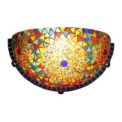 Multi Mosaic Wall Uplighter