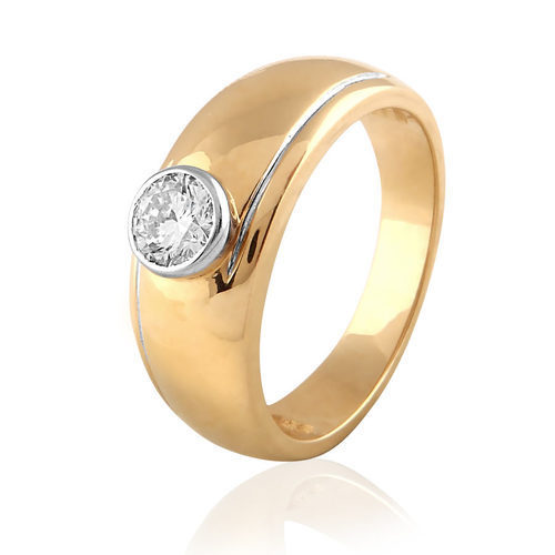 metal mens rings bands wendler wedding jewellery s rose band engagement yellow palladium men mechanical gold ring