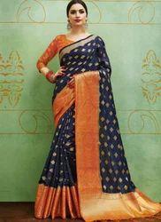 56c748be6d649b Blue Yes Banarasi Silk Saree