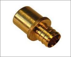Brass PEX Male Sweat Adapter