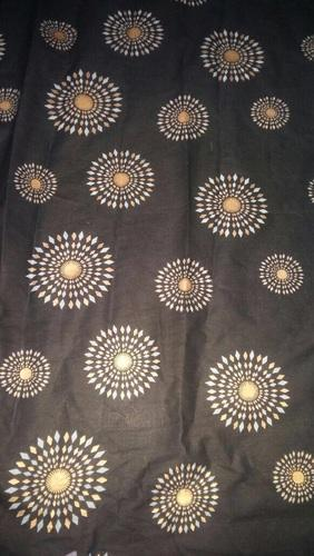 Gold Printed Fabric