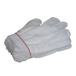 Nylon White Hand Gloves