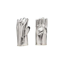 Aluminized Fire Fighting Hand Gloves