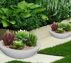 Round Bowl Flower Pot 2 Ft