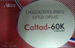 Cholecalciferol 60000 Soft Gel Capsule