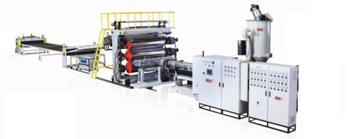 Pp Pe Thick Amp Wide Plastic Sheet Extrusion Line Rr
