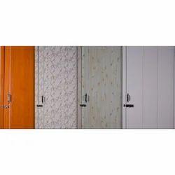 PVC Single Sheet Door