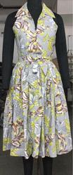ladies printed cotton dress