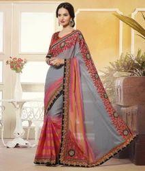 Multi Color Party Wear Saree