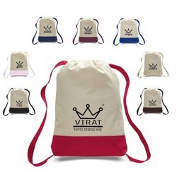 Backpack Cotton Bag