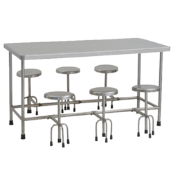 Stainless Steel Commercial Dining Table