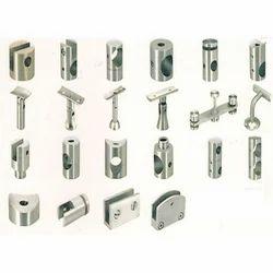 Silver,Metallic Grey Railing Fittings