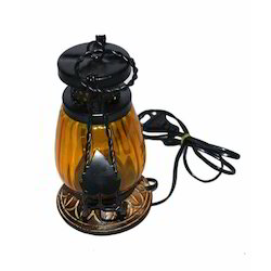 Traditional Iron And Glass Decorative Lantern