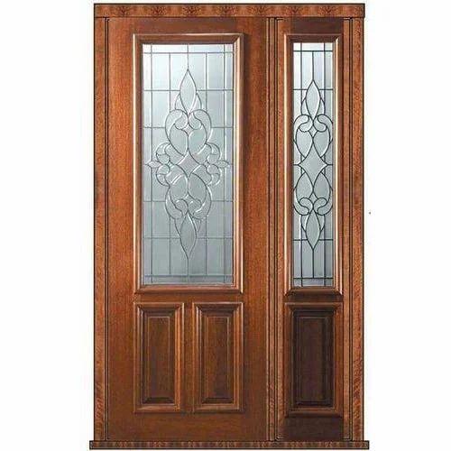 Wooden Door With Glass Rs 30000 Piece Z Interiors Id 13041712888