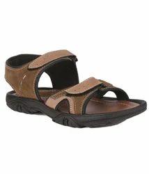 PVC Daily Wear Men Trendy Floaters - Brown