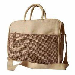Trendy Jute Laptop Bag