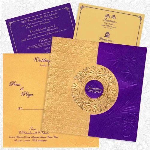 Violet Gold Card