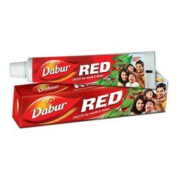 Dabour red Red Tooth Paste, Packaging Size: 200gm