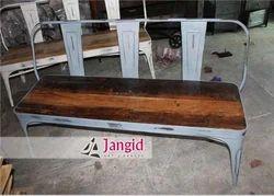 Iron,Wood Vintage Industrial Wooden Furniture