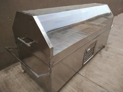 Stainless Steel Electric Dead Body Freezer Box