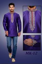 Purple Designer Men Kurtas