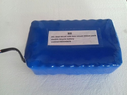24V 20ah Lithium Ion Battery Pack