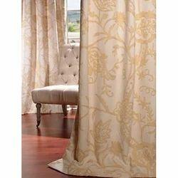 WD Lorraine Embroidered Cotton Window Curtain