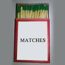 Safety Kitchen Box Matches