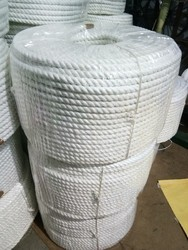 White polyester Rope