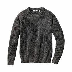 Woolen Round Neck Mens Sweaters