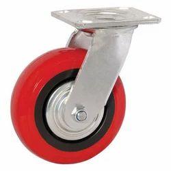 PU Wheels Lockable MS Castor