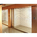 Glass Polycarbonate Roller Shutter