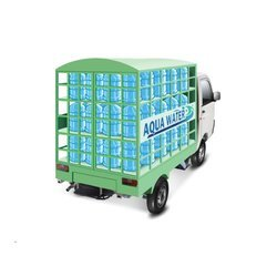 supro maxitruck water bottle carrier truck