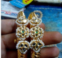 Bangles Set With Real Kundan Work