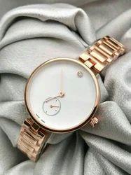 White Formal Wear Ladies Watch, Model Name/Number: 5377196