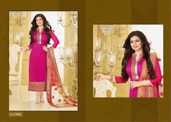 Net Dupatta Heavy Embroidery Suits