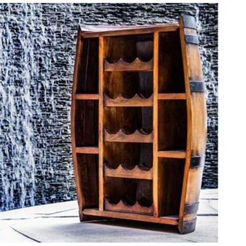 Barrel Bottle Cabinet