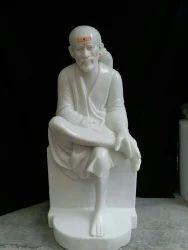 Jaipur Craft Marble Sai Baba Statue