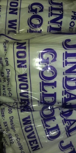 Jindal gold White Non Woven Bags 20gsm, Capacity: 5kg and 1kg