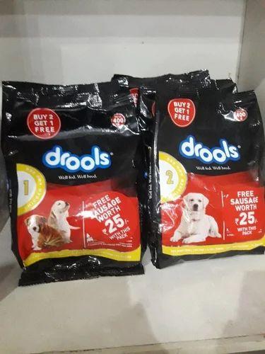 Drools Dog Food 400g At Rs 100 Packet ड र ल स क त त क भ जन ड र ल स ड ग फ ड Gdy Annai Aquarium Chennai Id 20331811491