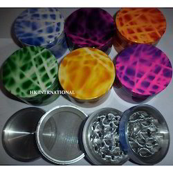 Tobacco Color Smoking Herb Grinders