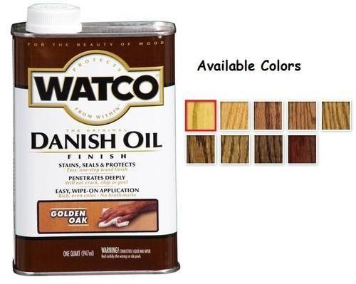 Watco Danish Oil Wood Finishes
