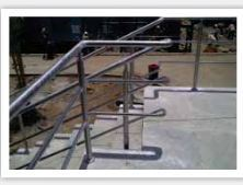 Finish Metal Railing
