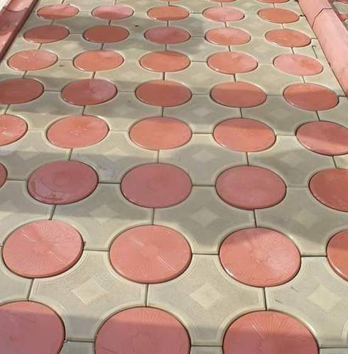 Interlocking Concrete Tile