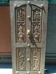Teak Wood Designer Door